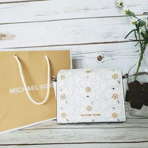 NWT | Michael Kors Sofia Floral Studded Crossbody